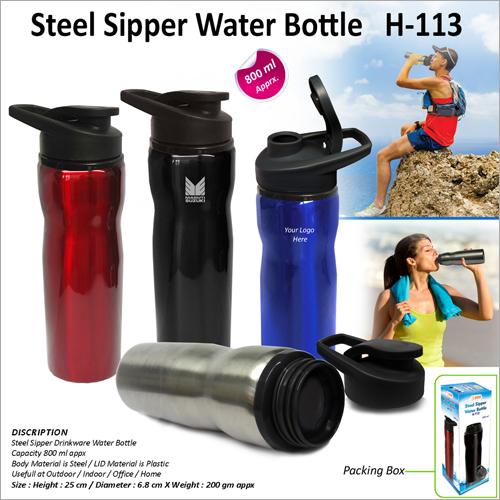 Steel Sipper Water Bottle H 113
