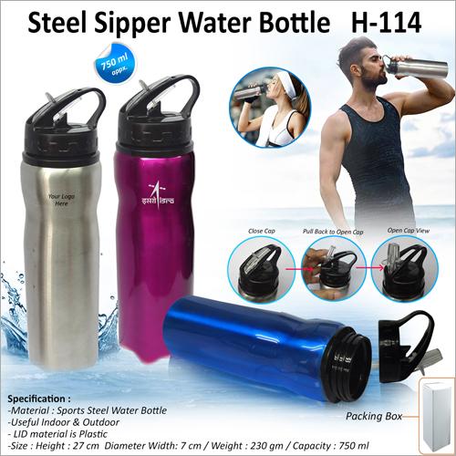 Steel Sipper Water Bottle H 114