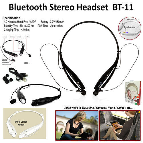 Bluetooth Stereo Headset BT-11