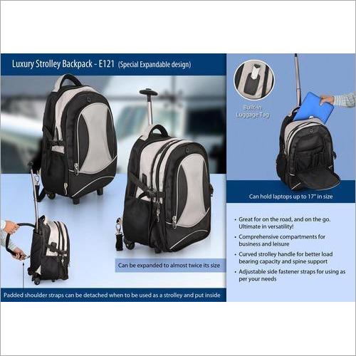Luxury Trolley Back Pack E – 121