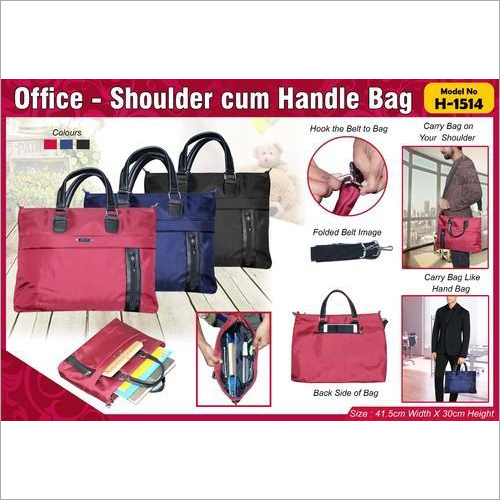 Office Utility Document Handle Bag H-1514