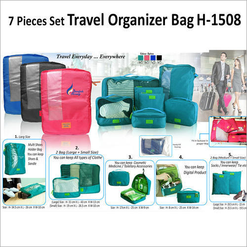 Pieces Travel Organizer Bag H-1508