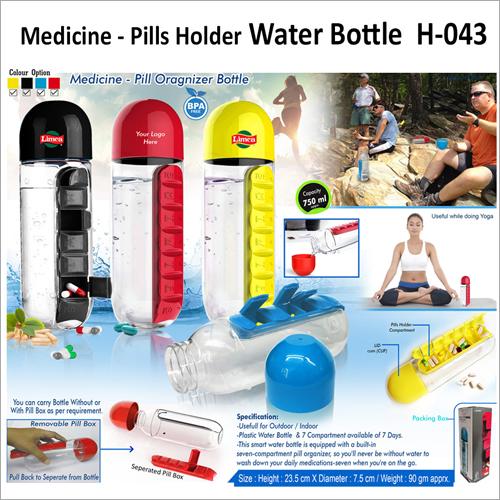 Pills Holder Water Bottle – 043