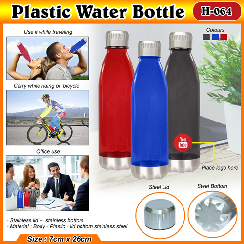 Plastic Water Bottle H 064