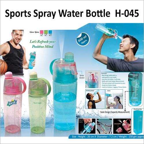 Sports Spray Water Bottle – 045