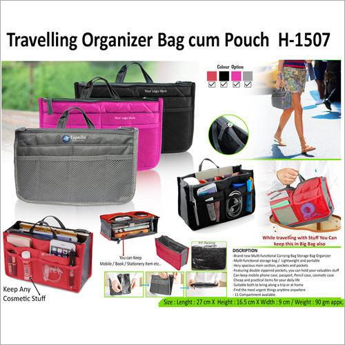 Travelling Organizer Bag Cum-Pouch H-1507