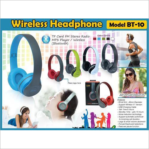 Wireless Headphone BT-10