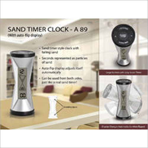 A89 – Sand Timer Clock (with Auto Flip Display