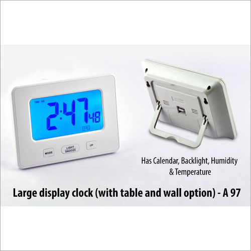 A97 – Large Display Clock (with Table And Wall Option)