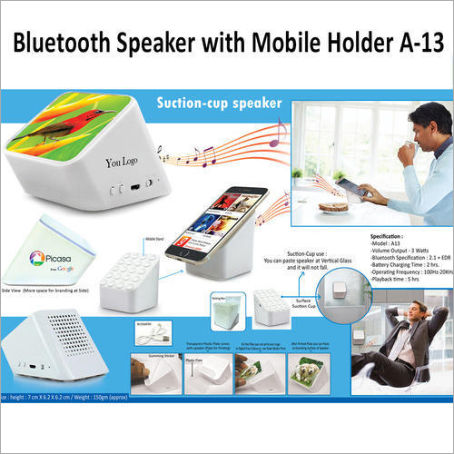 Bluetooth Speaker with Mobile Holder A-13