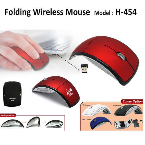 Folding Wireless Mouse H 454