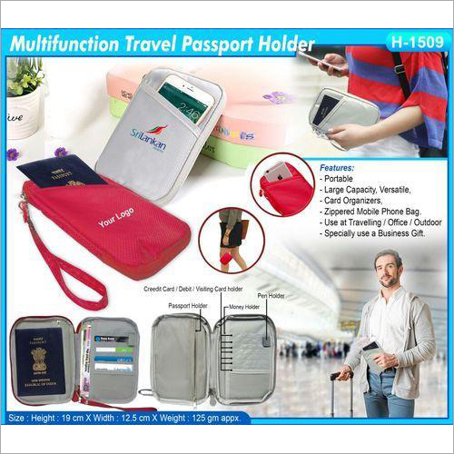 Multifunction Travel Passport Holder H-1509