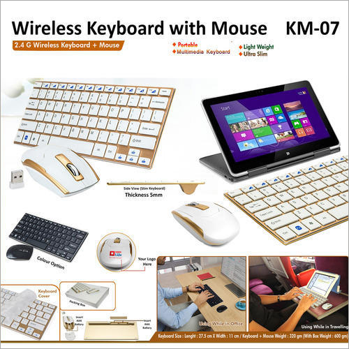 Wireless Keyboard with Mouse KM07