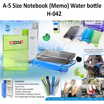 A-5 Size Memo Bottle-042
