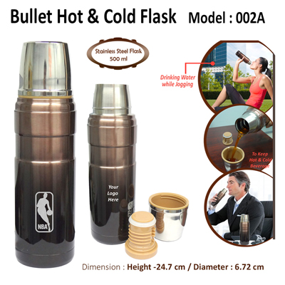 Bullet Hot & Cold Flask-002A