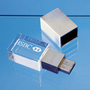 Corporate Gifting -Customized Crystal USB Pen Drive