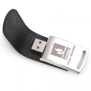 Corporate Gifting -Customized Leather USB Pen Drive