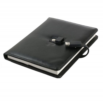 Diary Notebook with USB CSD901 4GB, 8GB, 16GB, 32GB, 64GB