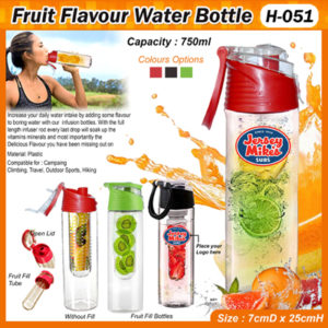 Corporate Gifting - Fruit Flavour Water Bottle- H - 051