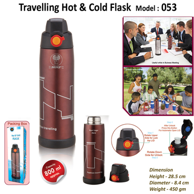Travelling Hot & Cold Flask 053