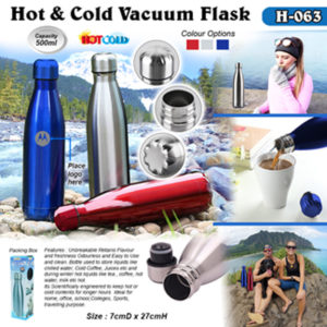 Corporate Gifting - Hot & Cold Vacuum Flask - H - 063