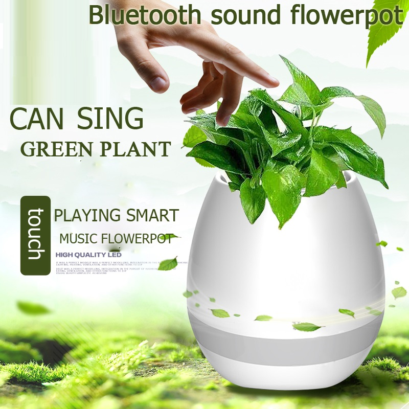 Smart Plant Pot Speaker SUB USB –S 108