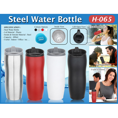Steel Water Bottle Model H-065