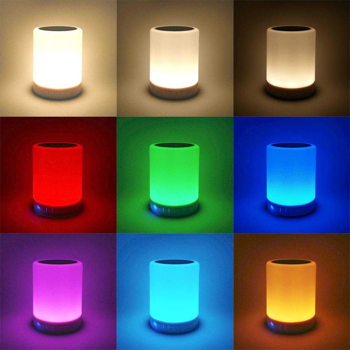 LED Sensor Light Bluetooth Speaker SUB USB – S – 101
