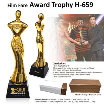 Film Fare Award Trophy H-659