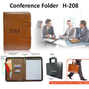 Corporate Gifting - Conference Folder - H - 208