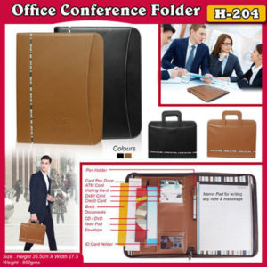 Corporate Gifting - Office Conference Folder - H - 204