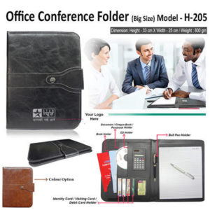Corporate Gifting - Office Conference Folder (Big Size) - H - 205
