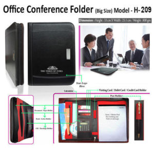 Corporate Gifting - Office Conference Folder (Big Size) - H - 209
