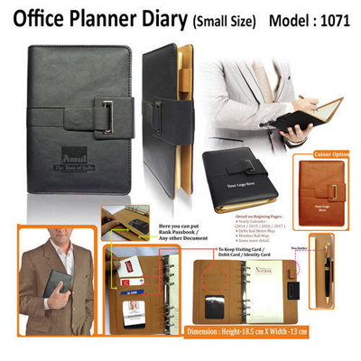 Office Planner Diary (Small Size) 1071