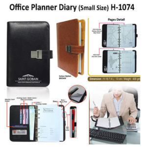 Corporate Gifting - Office Planner Diary (Small Size) - H - 1074