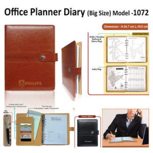 Corporate Gifting - Office Planner Diary (Big Size) - H - 1072