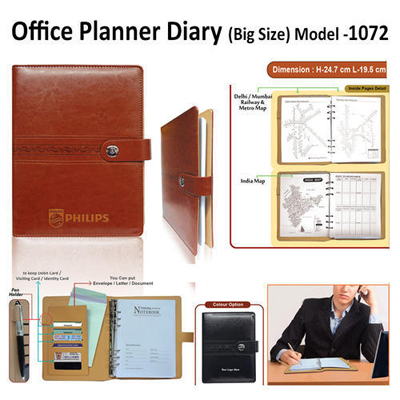 Office Planner Diary Big Size 1072
