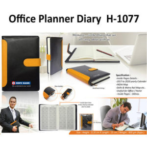 Corporate Gifting - Office Planner Diary - H - 1077